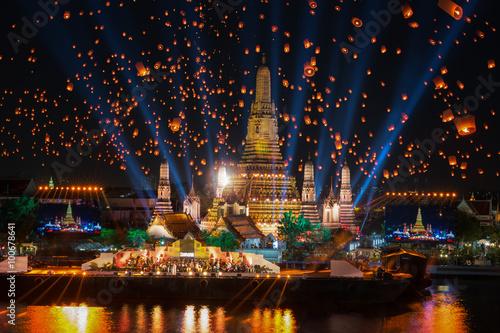 Fotografie, Obraz  Wat Arun Temple