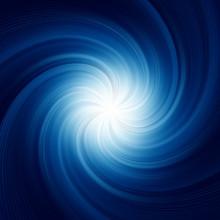Blue Twirl Background. EPS 8
