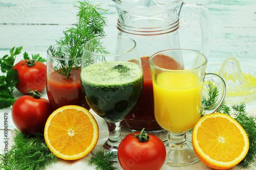 zdrowe soki owocowo warzywne