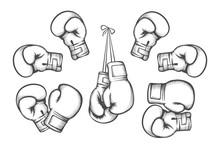 Boxing Gloves. Equipment For F...