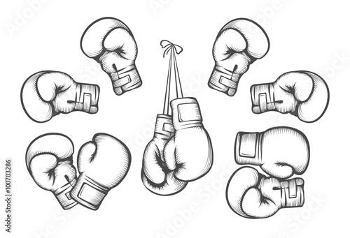 Fényképezés  Boxing gloves
