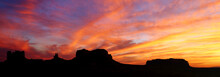 Sunset At Monument Valley, Uta...