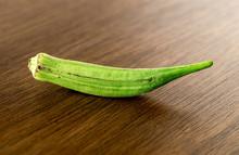 Green Raw Lady's Finder Okra
