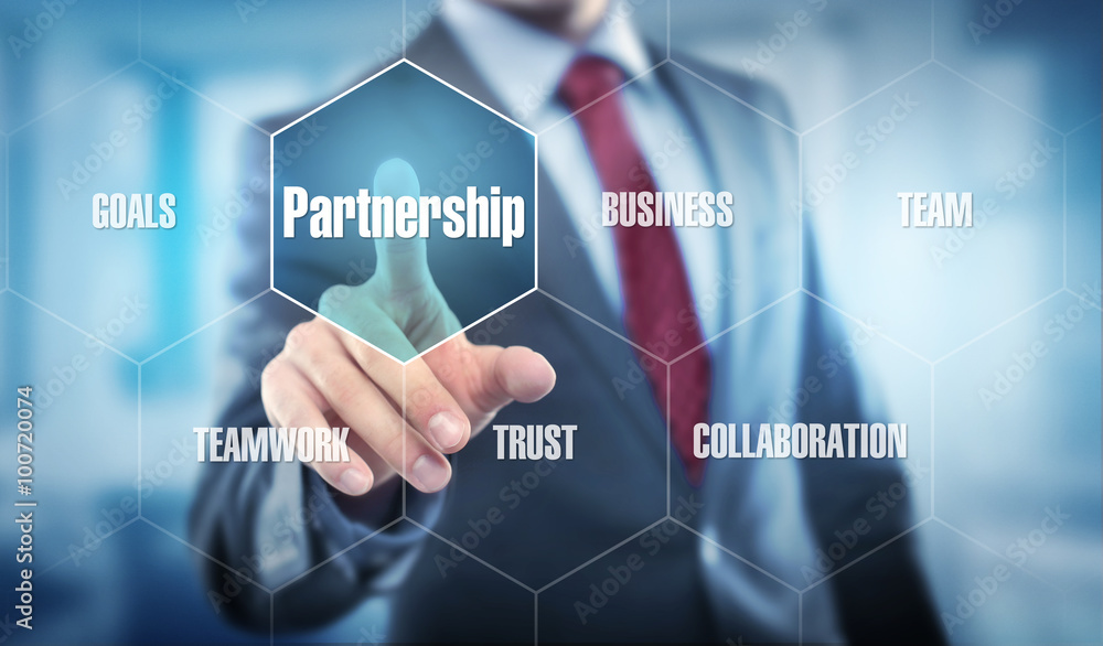 Fototapeta Partnership