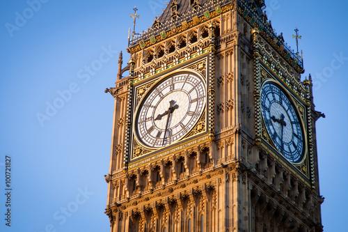 Fotografia  Big Ben w centralnym Londynie
