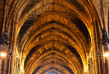 Intricate Sandstone Ceiling In...
