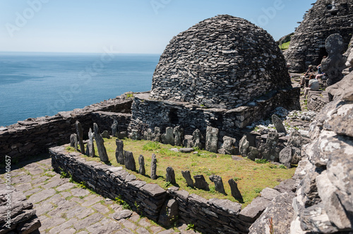 Skellig Michael, UNESCO World Heritage Site, Kerry, Ireland Fototapet