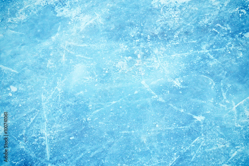 Fotomural  Frozen background of ice