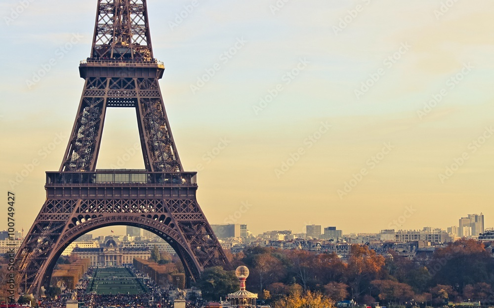 Fototapety, obrazy: paris france eiffel tower