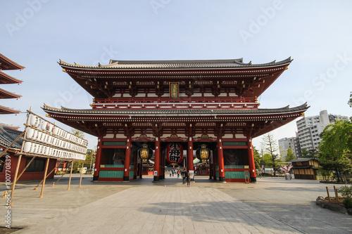 Foto op Plexiglas Temple Sensoji Asakusa, Tokyo, Japan