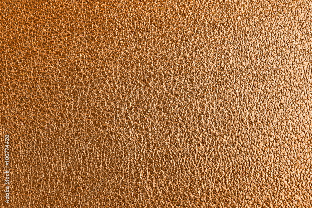 Fototapety, obrazy: Golden leather texture close up