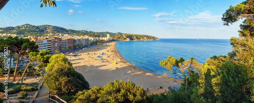 Photo  The beaches of Costa Brava in Lloret de Mar, Spain.