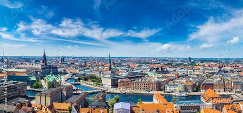 fototapeta na ścianę Copenhagen panorama