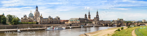 In de dag Havana Panoramic view of Dresden