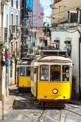 Zdjęcie XXL Tramwaj Lizbona