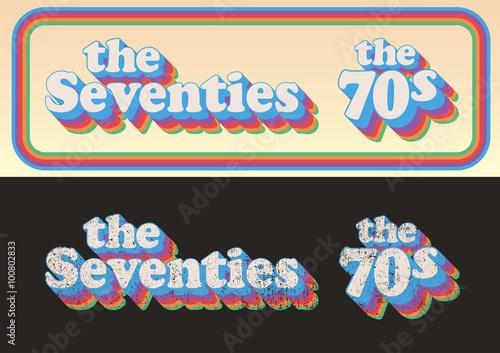 Valokuva  The Seventies 1