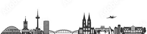 panorama-kolonii-czarno-bialy-widok-niemcy