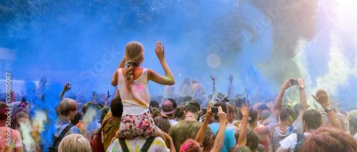 Fototapeta Holi Festival obraz