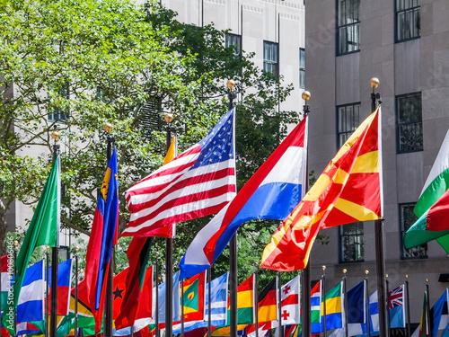 Fotografia Flags of Nations