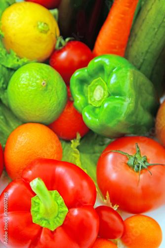 Keuken foto achterwand Groenten 新鮮な野菜と果物