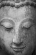buddha statue in wat umong, chiang mai, travel thai temple