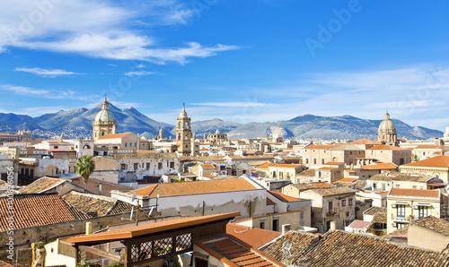 Deurstickers Palermo Palermo