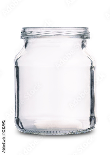 Fotografía  Empty glass jar