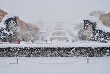The Cascade Stairway, Yerevan,...