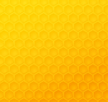 Seamless Abstract Honeycomb Pattern