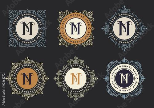 Photo Vintage emblem template