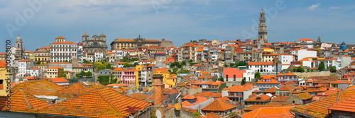 Foto op Aluminium Palermo Panoramic view on Porto