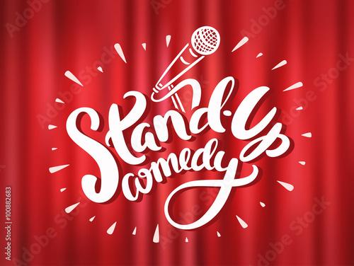 Fotografija  Stand up comedy.
