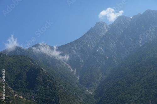 Fotografie, Obraz  Mount Athos, Athos, Halkidiki, Greece