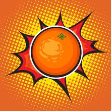 Vector Orange. Art.