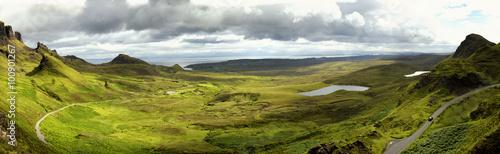 Fotomural Quiraing on isle of skye, Scotland