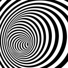 fototapeta 3D spirala tunel