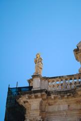 Fototapeta na wymiar religious buildings Dubrovnik, Croatia