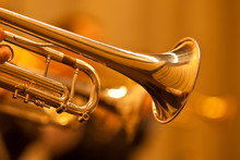 Detail Of The Trumpet Closeup ...