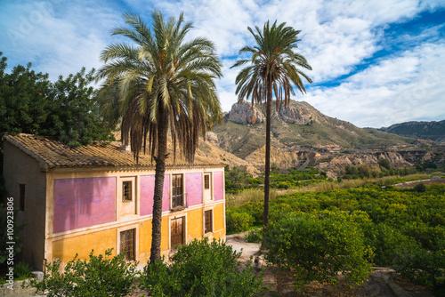 Ricote Valley. Region of Murcia. Spain