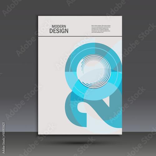 Fotografia  Vector design 20 years anniversary. Cover template