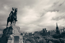 The Royal Scots Greys Monument