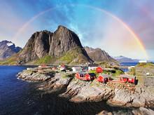 Norwegian Fishing Village Huts...