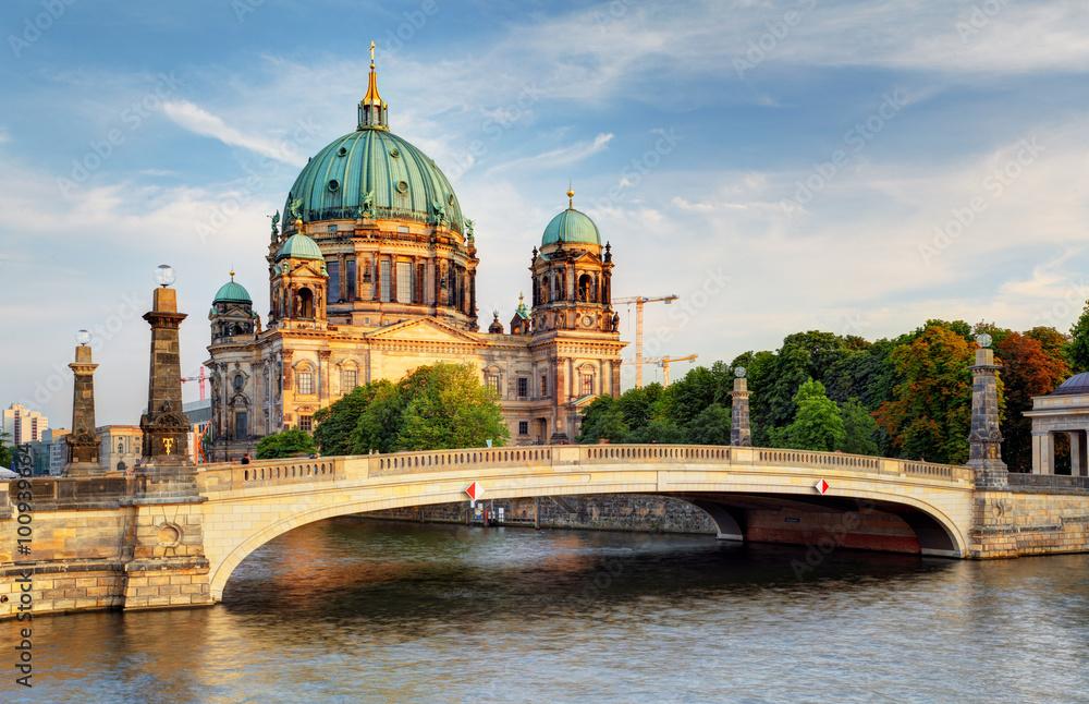 Fototapety, obrazy: Berlin cathedral, Berliner Dom