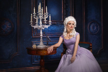Woman In Historic Baroque Styl...