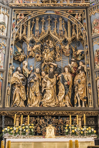 Fotografie, Obraz  Altarpiece of Veit Stoss