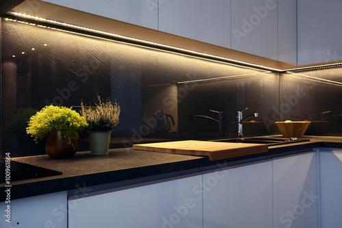 Fototapeta Interior - kitchen obraz
