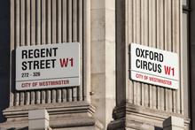 Regent Street And Oxford Circu...