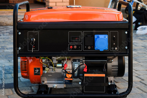 Canvastavla Panel portable electric generator