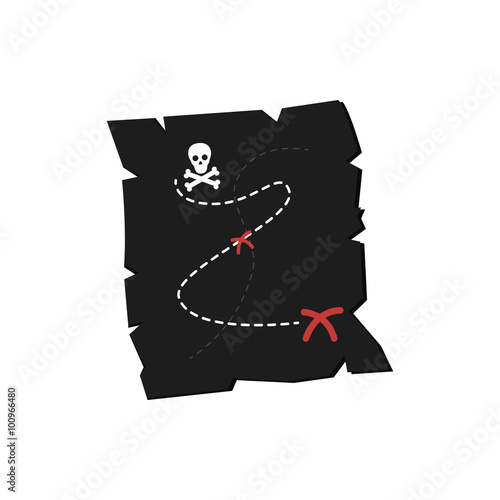 Pirate Object Canvas Print