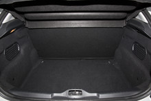Rear View Of A Car With An Open Trunk